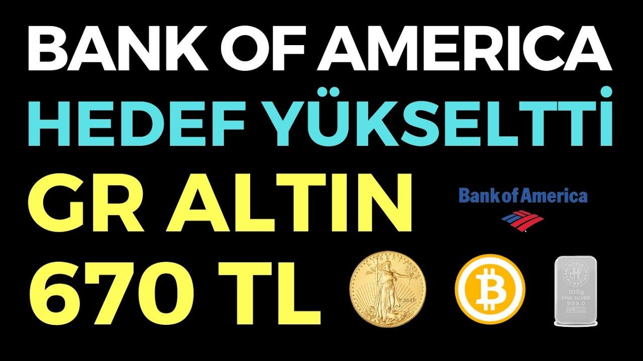 BANK OF AMERICA GR ALTIN 670 TL - EKONOMİ HABERLERİ - DÜNYANIN HABERİ 129 - 29.07.2020