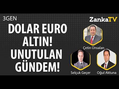 DOLAR EURO ALTIN | GİZLENEN EKONOMİ GÜNDEMİ! | Selçuk Geçer | Çetin Ünsalan | Oğul Aktuna | 3GEN