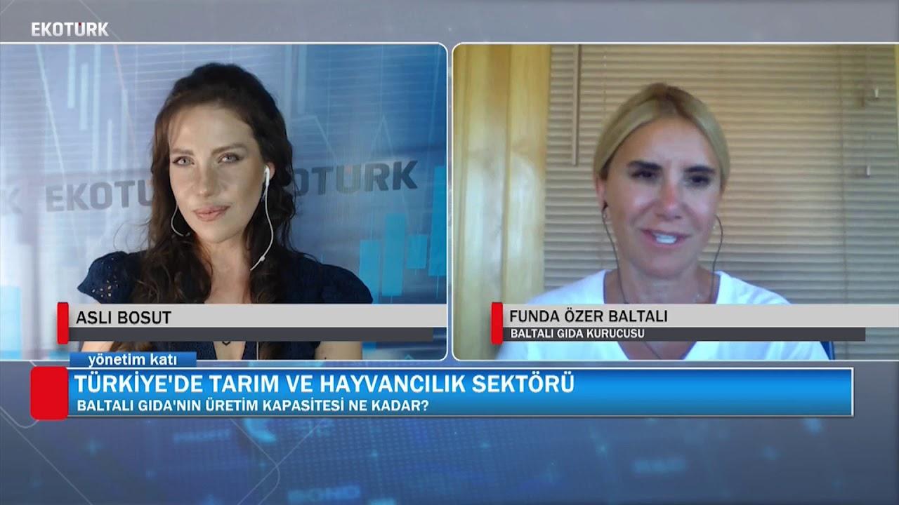 TÜRKİYE'DE TARIM VE HAYVANCILIK SEKTÖRÜ