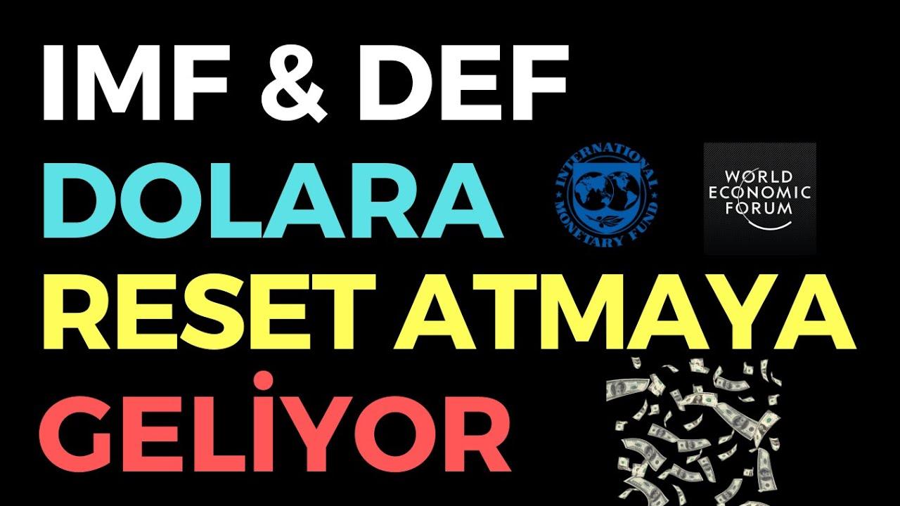 IMF & WEF DOLARA RESET ATMAYA GELİYOR - EKONOMİ HABERLERİ - DÜNYANIN HABERİ 121 - 05.07.2020