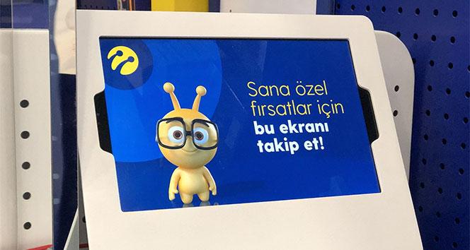 Turkcell mağazalarında kasalar da dijitalleşti