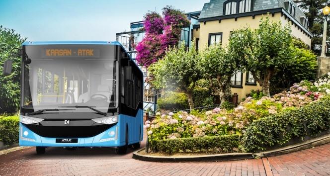 Yerli otomotivden Fas'a 25 adet otobüs