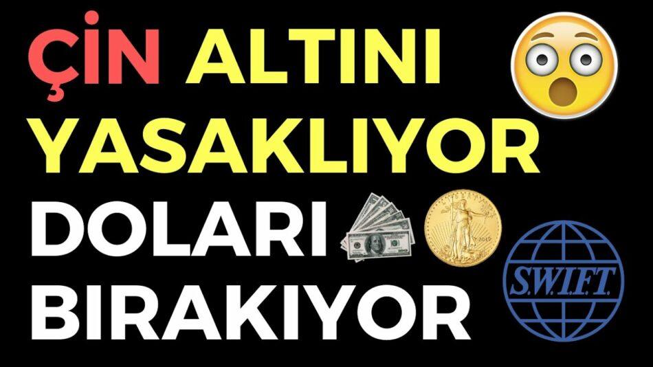ÇİN ALTINI YASAKLIYOR DOLARI BIRAKIYOR - EKONOMİ HABERLERİ - DÜNYANIN HABERİ 131 - 01.08.2020