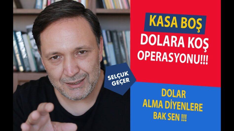 MİLLETE DUR DERKEN ÇAKTIRMADAN DOLAR TOPLAMIŞLAR !!!