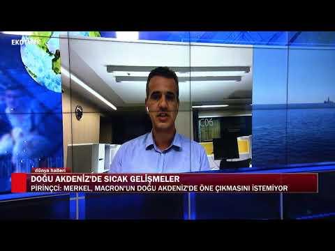 Doğu Akdeniz'de gerilim | Doç. Dr. Ferhat Pirinçci | Ali Değermenci |Dünya Halleri