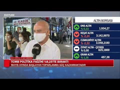 Merkez Bankası politika faizini sabit tuttu  Merkez Bankası Özel Yayını Mehmet Ali Yıldırımtürk