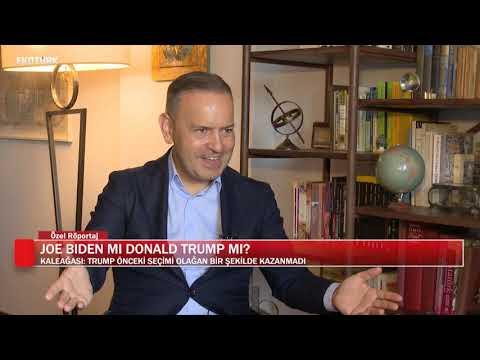Joe Biden mı Donald Trump mı?| Dr.Bahadır Kaleağası | Eda Özdemir | Özel Röportaj