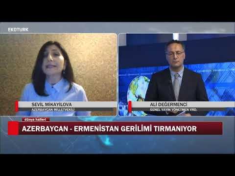 Azerbaycan Ermenistan gerilimi tırmanıyor | Sevil Mikayilova | Ali Değermenci | Dünya Halleri