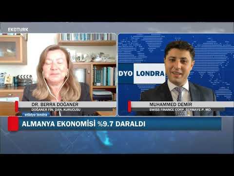 Küresel piyasalarda neler fiyatlanıyor?   Stüdyo Londra  Dr. Berra Doğaner  Muhammed Demir