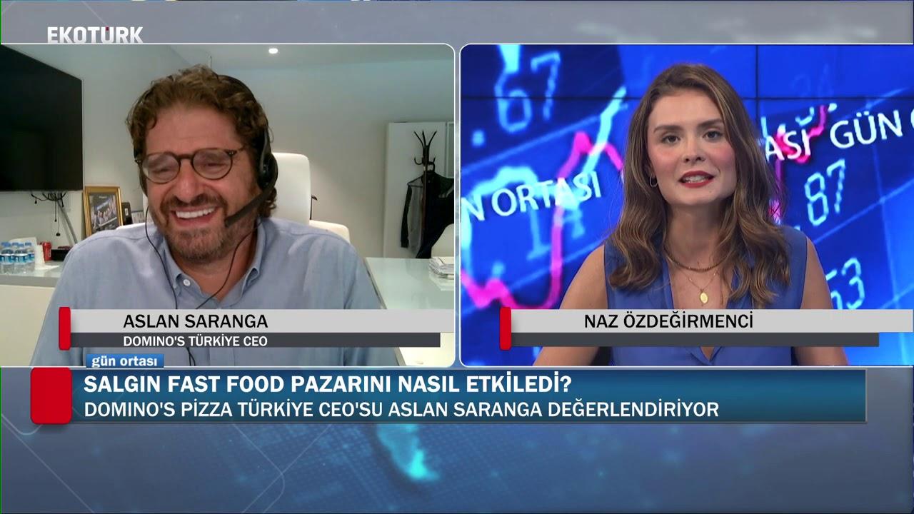 Dünyada ve Türkiye'de fast food pazarı | Aslan Saranga | Naz Özdeğirmenci | Gün Ortası |