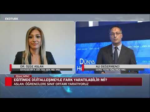 ''Seemeet'' Türkiye'nin ilk yerli eğitim platformu | Dr. Özge Aslan | Ali Değermenci | Dünya Halleri