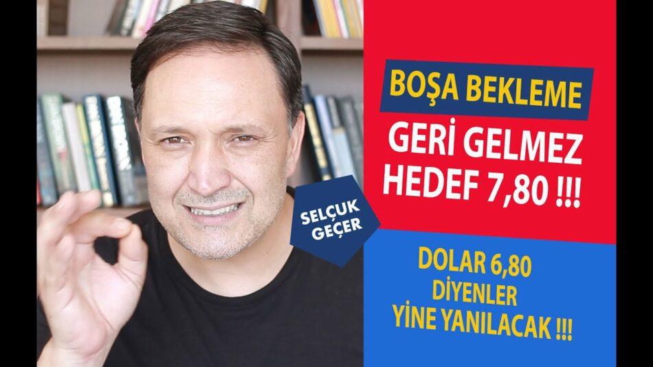 BOŞA BEKLEME GERİ GELMEZ HEDEF 7,80 !!!