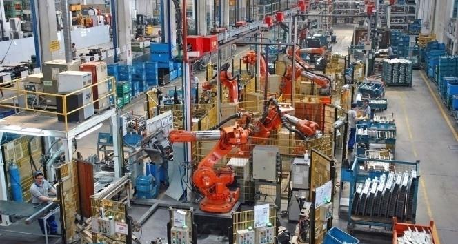 Sanayi üretimi yıllık yüzde 0,1 arttı