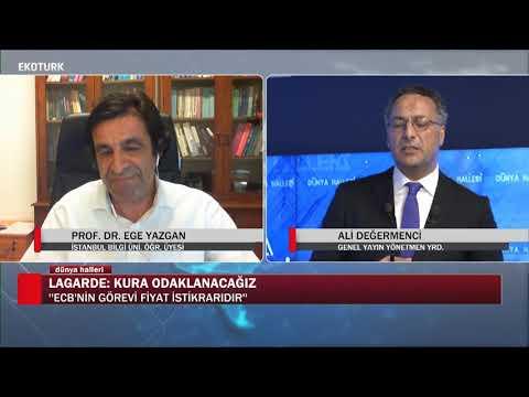 Avrupa Ekonomisi toparlanabilecek mi? | Prof. Dr. Ege Yazgan |Ali Değermenci| Dünya Halleri