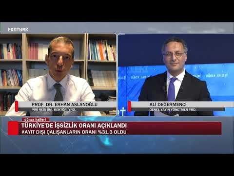 Türkiye işsizlik sorununu nasıl çözebilir | Prof. Dr. Erhan Aslanoğlu |Ali Değermenci|Dünya Halleri