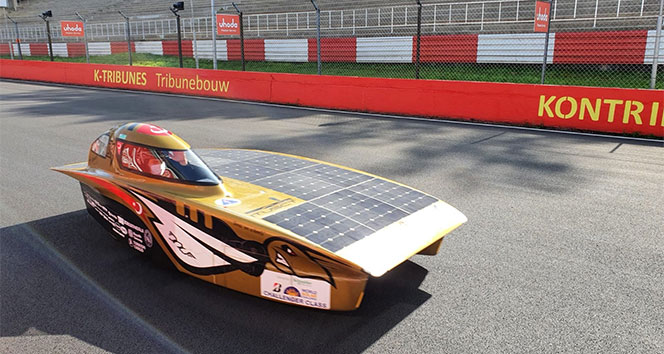Araba yarışları dünyasında bir ödül de İTÜ Güneş Aracına
