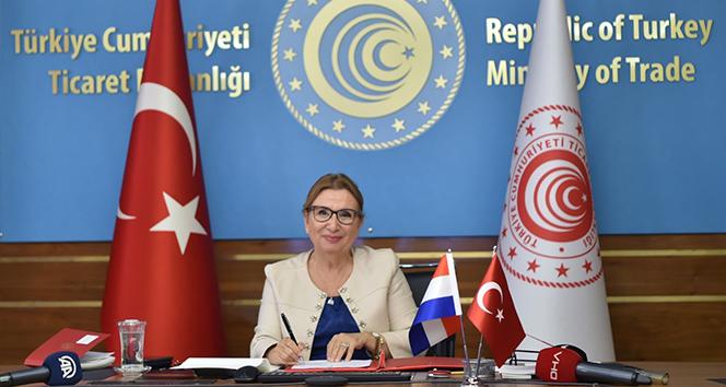Ticaret Bakanı Pekcan: 'Türkiye'de doğrudan yatırımı bulunan ülkeler arasında Hollanda birinci sırada'