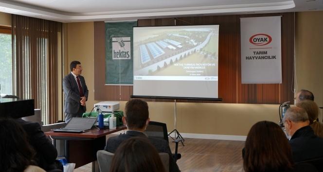 HEKTAŞ'ın Tarımsal İnovasyon ve Deneyim Merkezi'ne ziyaret