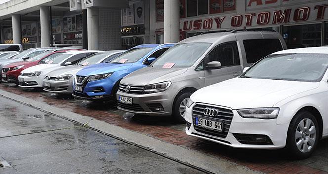 İkinci el araç piyasasında durgunluk yaşanıyor