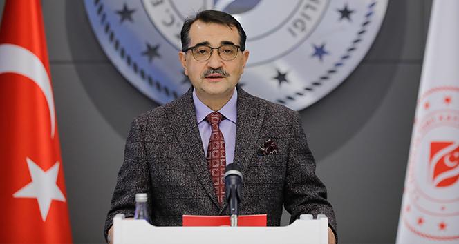 Bakan Dönmez: 'Fatih'in keşfettiği 405 milyar metreküplük doğal gaz rezervimiz Filyos'ta karaya çıkacak'