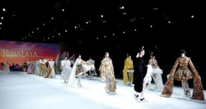Çin'de 'Moda Haftası' kutlandı