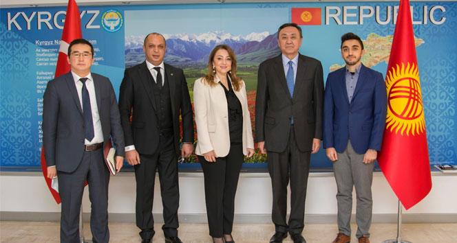 Kırgızistan ile Türkiye arasındaki ticaret köprüsü büyüyecek