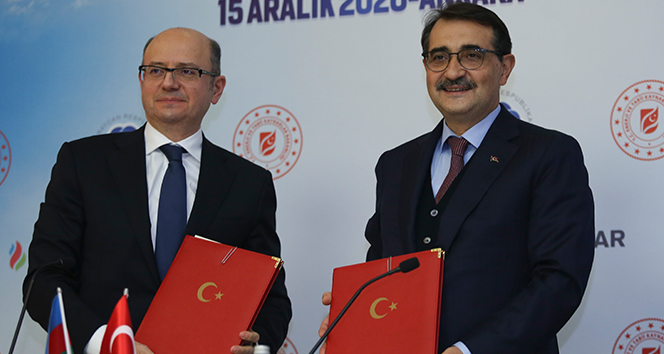 'Türkiye-Azerbaycan (Nahçıvan) Doğalgaz Boru Hattı' anlaşması imzalandı