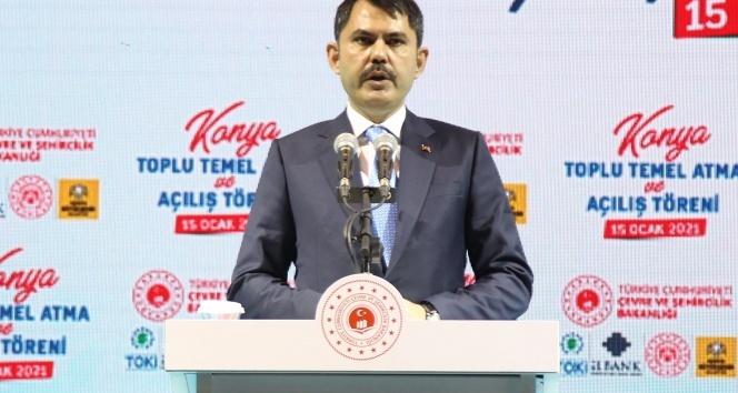 """Bakan Kurum: """"Yatırım değeri 1.6 milyar lira olan 38 projemizi de büyük oranda tamamladık"""""""