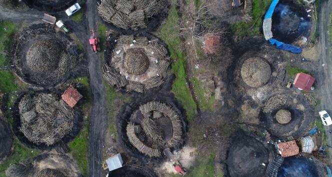 Korona virüs İstanbul'un mangal kömürü üreticilerini de vurdu