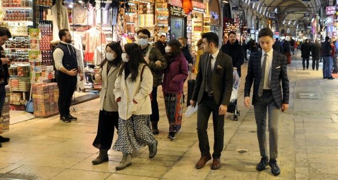 Kapalıçarşı'nın günlük ziyaretçi sayısı Ocak ayında 80 bine geriledi