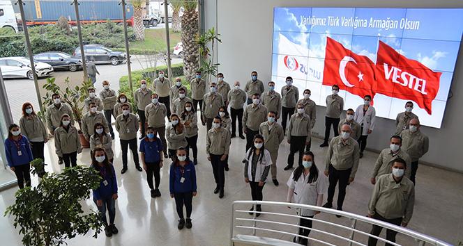 Vestel'e Japonya'dan 'TPM World Class Ödülü'