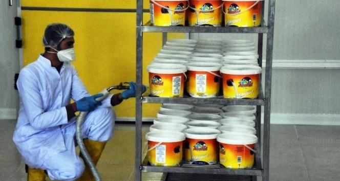 Yüzde 50 hibe desteğiyle süt ürünleri tesisi kurdu