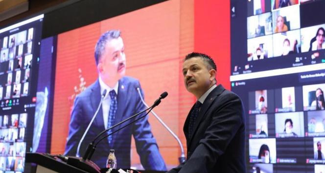 Bakan Pakdemirli: 'Tarımsal hasılamız 333,3 milyar TL'ye yükseldi'