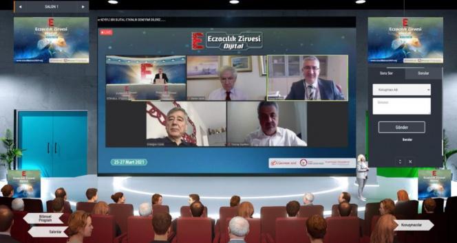 Dijital Eczacılık Zirvesi'nde önemli konular masaya yatırıldı