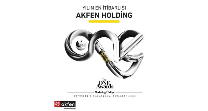 'En itibarlı Holding markası' Akfen Holding seçildi