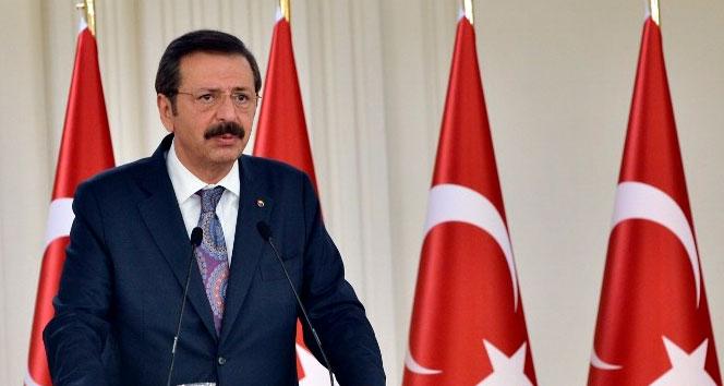 TOBB Başkanı Hisarcıklıoğlu, kısa çalışma ödeneğinin sürdürülmesi çağrısı yaptı