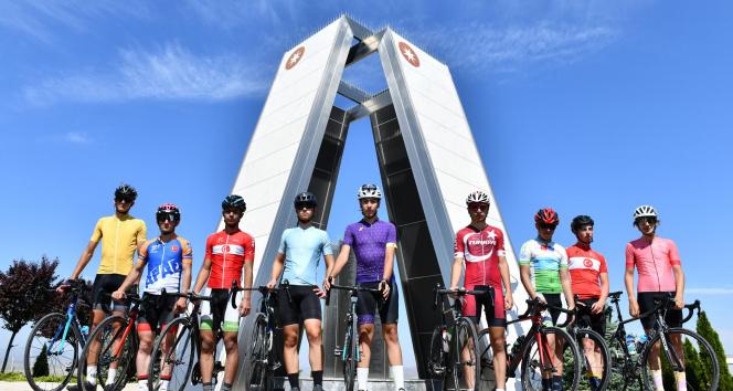 Anadolu OSB'nin mavi yolu bisikletçilerden tam not aldı