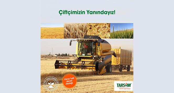 TARSİM: 'Çiftçimizin yanındayız'