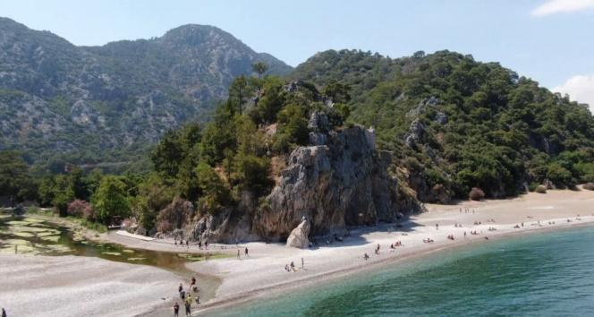 Antalya'nın dünyaca ünlü turizm beldesi Çıralı'da normalleşme hareketliliği