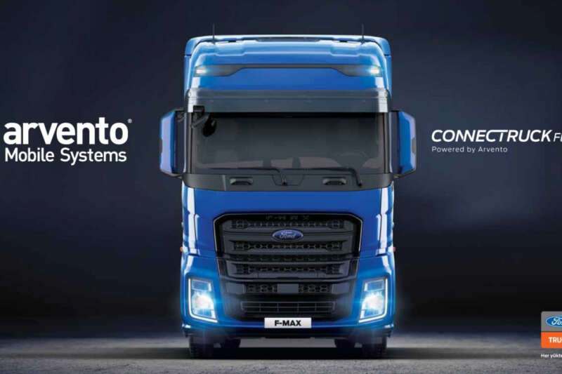 Arvento ile Ford Trucks'tan teknolojik iş birliği