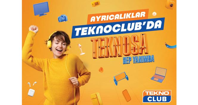 Ayrıcalıklarla dolu yeni sadakat programı 'TeknoClub'