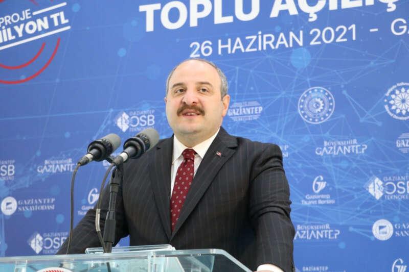 Bakan Varank, Türkiye'nin ilk ve tek Antep Fıstığı Lisanslı Deposu'nun açılışını yaptı