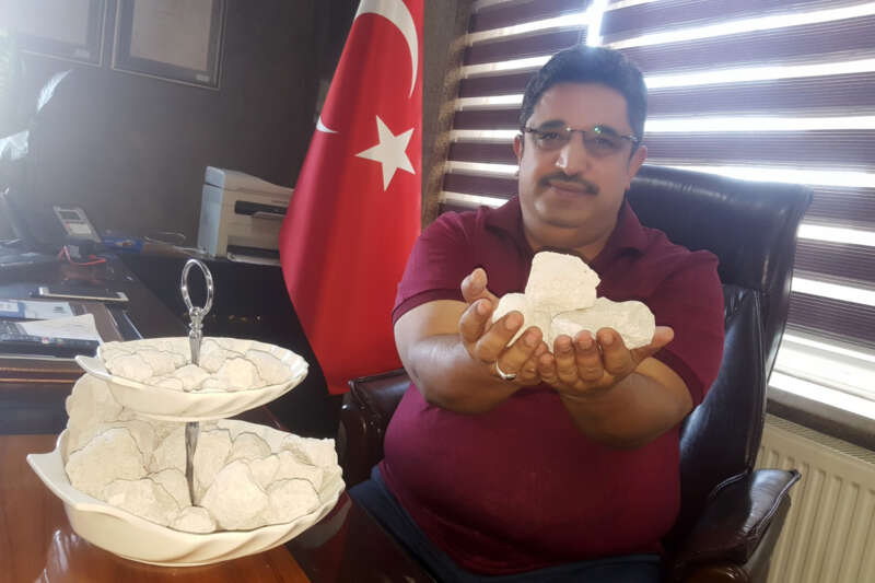 Bitlis'ten 'beyaz altın' fışkırıyor