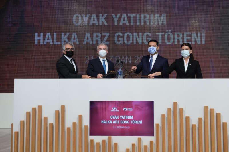 Borsa İstanbul'da gong 'OYAK Yatırım' için çaldı