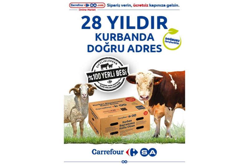 CarrefourSA'dan alternatif kurban paketleri