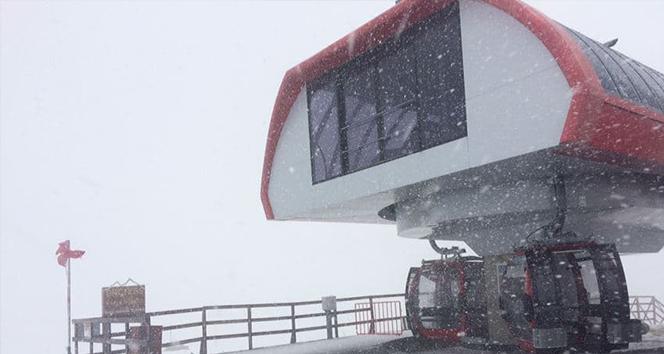 Erciyes Dağı'nda Haziran ayında yoğun tipi etkili oldu