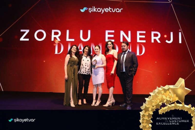 Türkiye'nin en yüksek müşteri memnuniyetini sağlayan markası Zorlu Enerji oldu