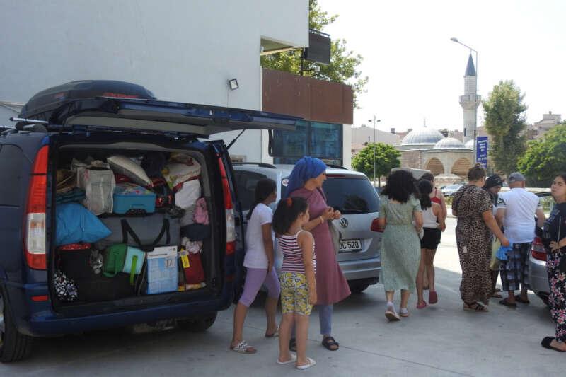 Edirne'de gurbetçi yoğunluğu, otellerde yer kalmadı