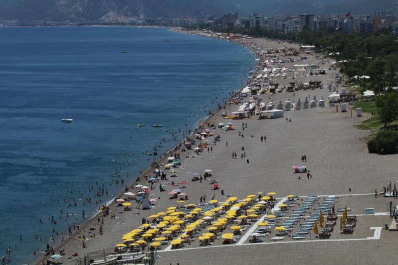 Geçen yılın Haziran ayına göre turizmde yüzde 190'lık artış