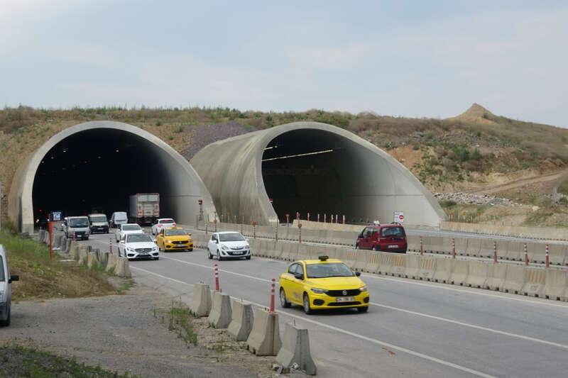 İstanbul Sabiha Gökçen Havalimanı'ndaki 'dağsız tünel' olay olmuştu, son hali görüntülendi